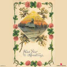 new year s cards vintage new years cards american greetings archives