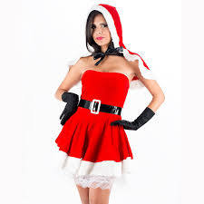 womens santa costume high quality christmas costume womens clothes bodyshaper