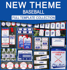 baseball party supplies baseball party ideas archives simonemadeit party printables