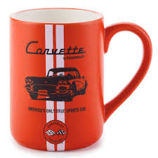 chevrolet corvette car coffee mug 16 oz mugs u0026 teacups