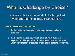 Challenge On Tiered And Assessment Challenge By Choice With