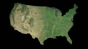 map of usa states denver usa colorado state denver extruded on the satellite map of the
