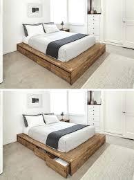wood bed frame queen u2013 euro screens