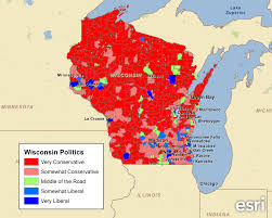 Wisconsin Maps by Examining Wisconsin U0027s Political Leanings U2013 Pam Allison