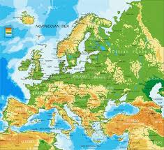 algeria physical map europe physical map stock vector image of finland 67598980