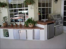 Outdoor Cabinets And Countertops Kitchen Outdoor Kitchen Bbq Refrigerator Dimensions Stainless