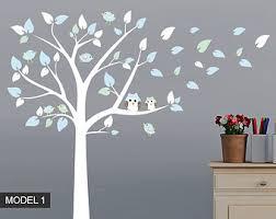 Nursery Tree Wall Decal Nursery Tree Decal Etsy