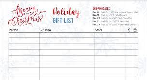 christmas gift list free christmas and hanukkah gift tracker printable pages the