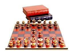 handmade leather u0026 precious metal chess set geoffrey parker