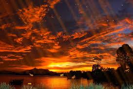 sunsets sunset view sun lake butterflies set hd wallpapers