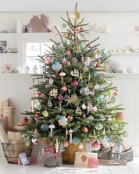 seaside inspired christmas tree martha stewart