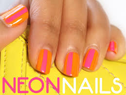 neon helps nails do the bright thing dazzle your digits with this