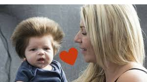 long hair on 66 year old woman gives birth to baby boy with long hair then she finds out the