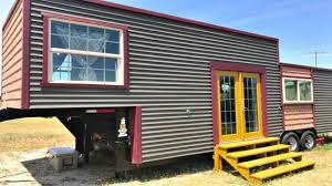 interesting eclectic interior gooseneck tiny house on wheels