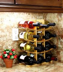Wine Home Decor Amazon Com Oceanstar Wr1149 12 Bottle Natural Bamboo Wine Rack