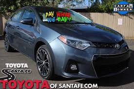 2014 Toyota Corolla Roof Rack by Pay What We Pay Toyota Of Santa Fe