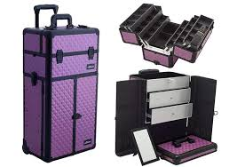 makeup luggage with lights rolling makeup cases your buying guide to the 10 best heavy com