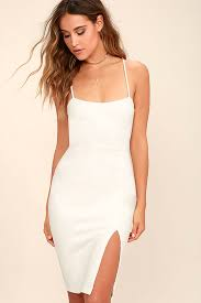 white bodycon dress classic white dress bodycon dress party dress 54 00