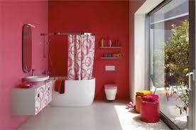 badezimmer rot bunte badezimmer designs 21 wunderschöne farbenreiche ideen
