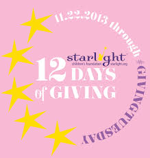 starlight children s foundation caign puts the giving into