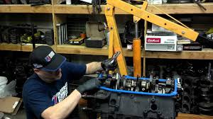 oil pump installation 350 chevy youtube