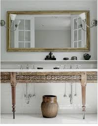 Wood Bathroom Vanity by 110 Best White Bathroom With Wood Or Dark Vanity Images On