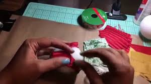 no sew quilted christmas ornament youtube