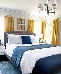 Blue And White Bedrooms 20 Deluxe Blue And Gold Bedroom Designs