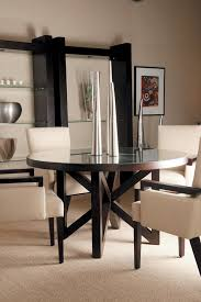 54 inch round dining table allan copley designs snowmass round 54 inch dining table in espresso