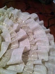 materials burlap fabric burlap tree skirt and burlap