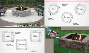 Fire Pit Glass Stones by How To Install The Madera Stone Fire Pit Kit U2014 Exteriorscape Dealer