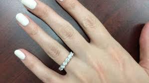 engagement ring vs wedding band ring noteworthy eternity ring vs wedding band impressive curious