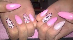 purple cheetah print nails free here