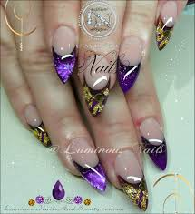 nail art tutorial good as gold leaf dusky gradient with gold leaf