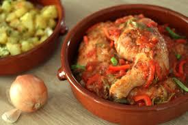 cuisine poulet basquaise poulet basquaise traditionnel délizioso