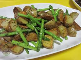 potatoes and asparagus side dish 240 baons 365 meals