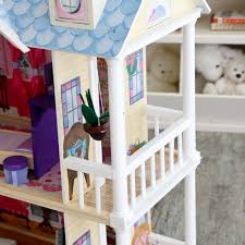 kidkraft my dreamy toy dollhouse with lights and sounds 65823