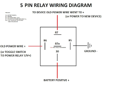 spotlight wiring diagram 5 pin relay single pole and bosch