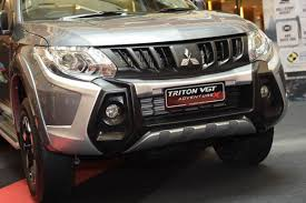 what u0027s new with the 2017 enhanced mitsubishi triton carsome