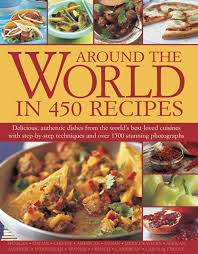 around the world in 450 recipes ainley 9781844775279