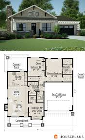 arts and crafts bungalow house plans
