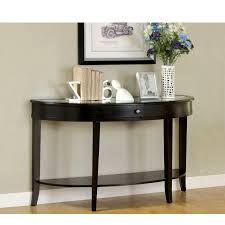 Dark Wood Sofa Table Glamorous Wooden Hall Console Table Design Ideas