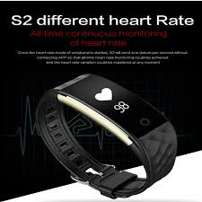 heart monitor bracelet iphone images S2 bluetooth smart band wristband heart rate monitor ip67 jpg