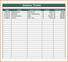 Microsoft Excel Expense Tracker Template Expense Tracker Template Thebridgesummit Co