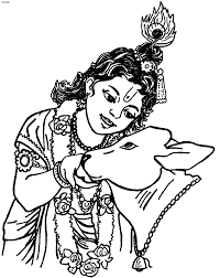 krishna with cow clipart clipartxtras