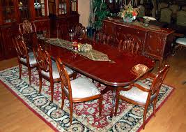 dining table marvelous bernhardt mahogany dining table