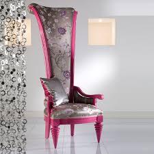 Throne Style Chair Fino High Back Wood Throne Chair The Chair Market
