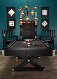 game room with black modern pool table tips to buying pool
