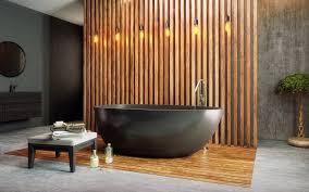 aquatica spoon 2 egg shaped graphite black solid surface bathtub