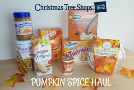 christmas tree shops pumpkin spice haul